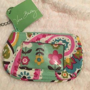 Vera Bradley ID Change purse NWT